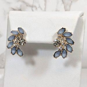 Park Lane Blue Cluster Earrings